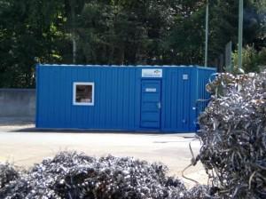 Инсталация за третиране на отпадъчни води Lugan® 1500 монтирана в контейнер