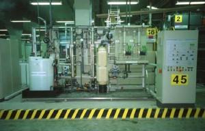 Инсталация за пречистване на цианиди с ултравиолетово лъчение