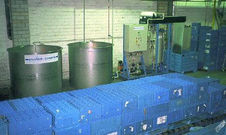 Chep, Automotive Container Pool, Кастроп-Рауксел, Германия